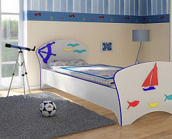 Кровать корабль для мальчика